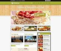 قالب رستوران و فروشگاه مواد غذایی TX Delicious