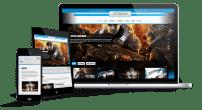 قالب بازی و مجله اینترنتی TX Extreme