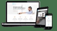 قالب دیجیتال مارکتینگ و طراحی وب TX Nefario