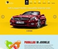 قالب ماشین و تجاری TX Parallax