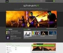 قالب موزیک و فیلم TX StreamX