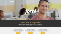 قالب آژانس تبلیغات JXTC Forte
