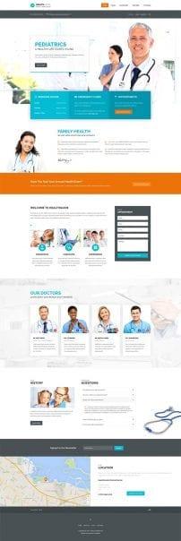 قالب پزشکی و سلامت S5 Health Guide