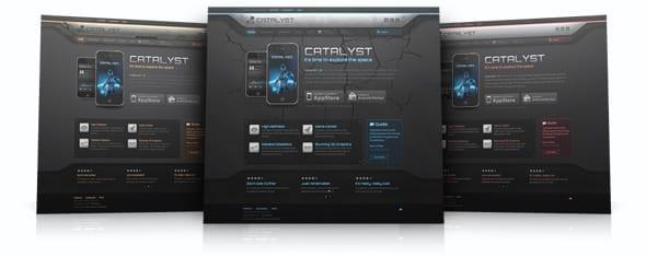 قالب گیم و بازی Yoo Catalyst