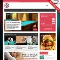 قالب مجله اینترنتی و سرگرمی VT Billiard