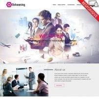 قالب کسب و کار تجاری VT Outsourcing