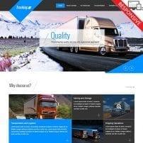 قالب شرکت حمل و نقل VT Trucking
