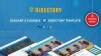 قالب آگهی و آموزشی SJ Directory Pro