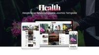 قالب مجله اینترنتی و سرگرمی SJ HealthMag