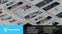 قالب طراحی وب و تجارت الکترونیک SJ Hexagon