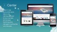 قالب موبایل و اپلیکیشن SJ iCenter