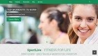 قالب ورزشی و باشگاه بدنسازی ZT SportLive