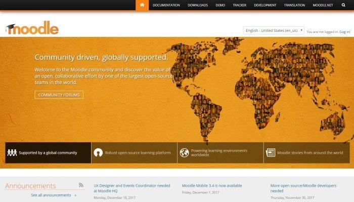 afzoneha com moodle homepage - افزونه ها | طراحی سایت آسان