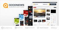 دانلود قالب خبری و مجله اینترنتی گودنیوز وردپرس | GoodNews Theme – Responsive WordPress News/Magazine
