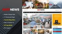 دانلود قالب خبری و مجله اینترنتی SJ BestNews جوملا | Premium News & Magazine Joomla Template