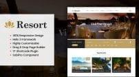 دانلود قالب تور گردشگری و هتل | SJ Resort II Responsive Hotel & Resort Joomla Template