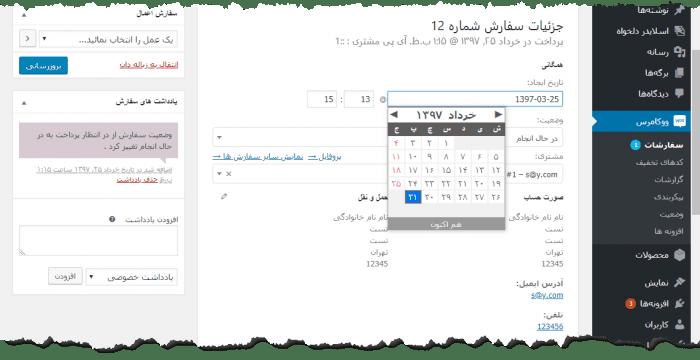 افزونه فارسی ساز و شمسی ساز WP Persian وردپرس | The Best WordPress Plugins | طراحی سایت آسان