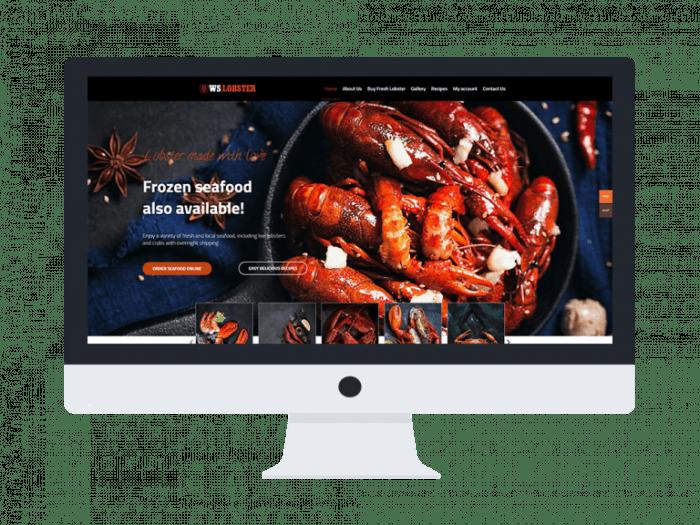 afzoneha com ws lobster - افزونه ها | طراحی سایت آسان