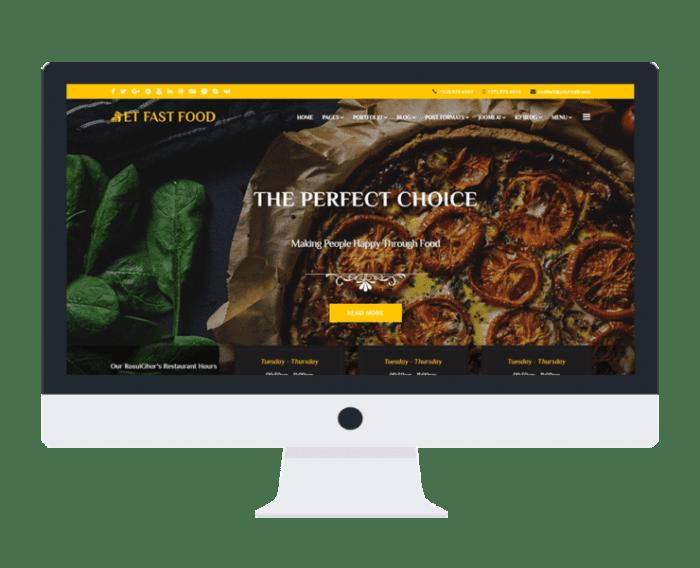 afzoneha com et fast food - افزونه ها | طراحی سایت آسان