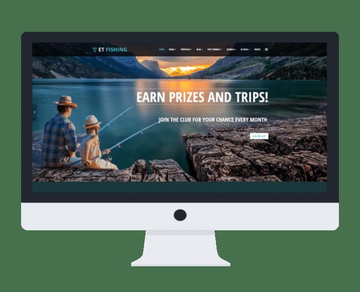 afzoneha com et fishing - افزونه ها   طراحی سایت آسان