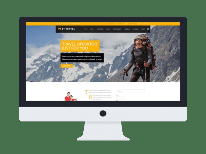 afzoneha com et travel - افزونه ها | طراحی سایت آسان