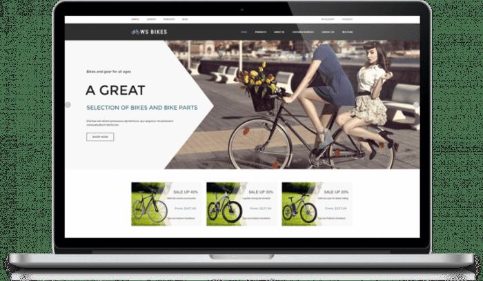afzoneha com ws bikes - افزونه ها | طراحی سایت آسان