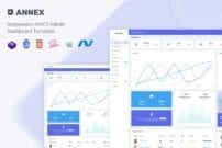 Annex - MVC5 Admin & Dashboard Template