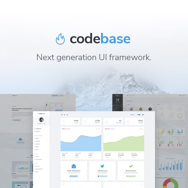 Codebase - Bootstrap 4 Admin Dashboard Template & Laravel 8 Starter Kit