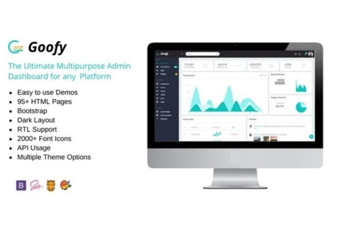 Goofy - Multipurpose Bootstrap Admin Dashboard
