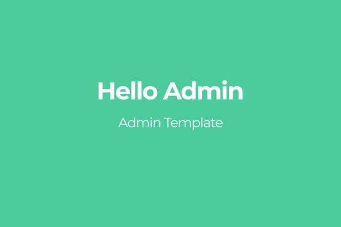 Hello Admin