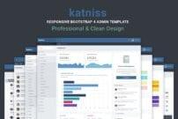 Katniss Responsive Bootstrap 4 Admin Template
