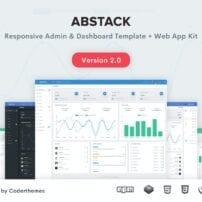 قالب مدیریت Abstack - Admin & Dashboard Template