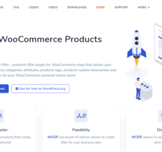 افزونه فیلتر محصولات ووکامرس WOOF – Products Filter for WooCommerce