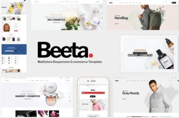 قالب فروشگاهی مد و فشن Beeta - Fashion OpenCart Theme