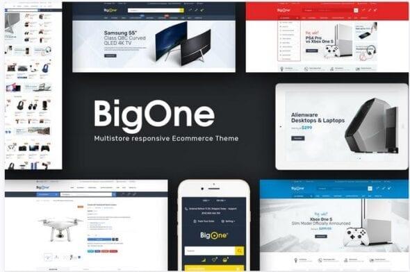 قالب فروشگاه تجارت الکترونیک Bigone - Responsive Opencart Theme