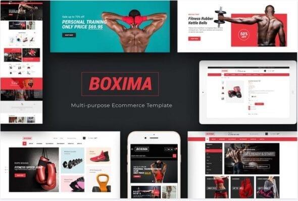 قالب فروشگاه لوازم ورزشی Boxima - Sport OpenCart Theme