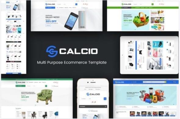 قالب فروشگاهی Calcio - Mega Store Responsive OpenCart Theme