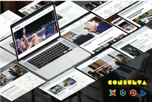 قالب تجاری جوملا Consulta - Consutation & Lawyer Joomla Template
