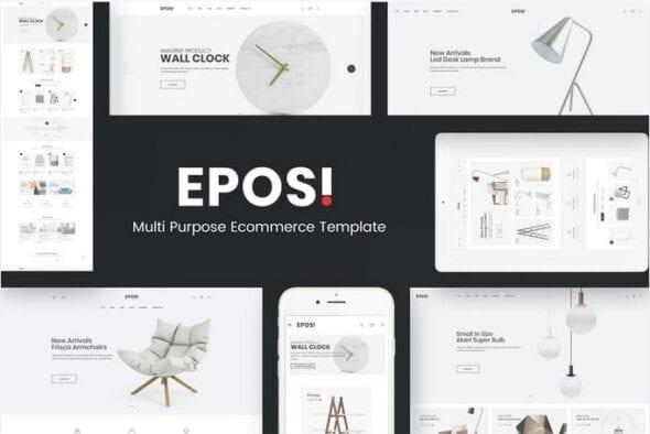 قالب فروشگاه مبلمان و دکوراسیون داخلی Eposi - OpenCart Responsive Theme