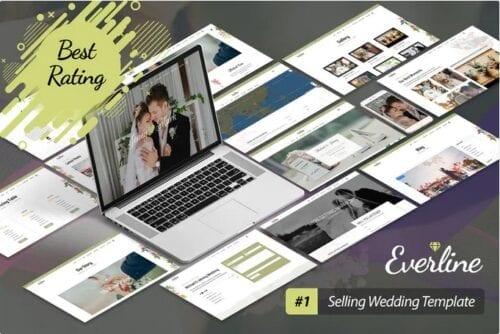 قالب همایش و رویداد جوملا Everline - Wedding Joomla Template