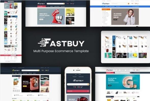 قالب فروشگاهی FastBuy - Mega Shop Responsive Opencart 3 Theme