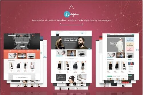 Mogan - Responsive VirtueMart Fashion Template