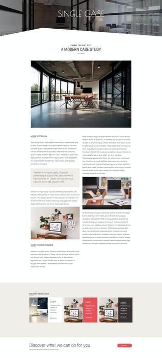 قالب آماده تمپلیت کیت Purekit - Creatives & Business Elementor Template Kit