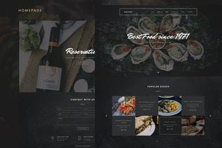 قالب رستوران و کافه جوملا Restory - Restaurant & Cafe Joomla Template