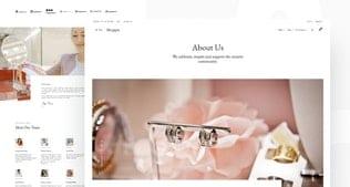 قالب آماده تمپلیت کیت Shoppix - Luxury & Jewellery Shop Elementor Template Kit