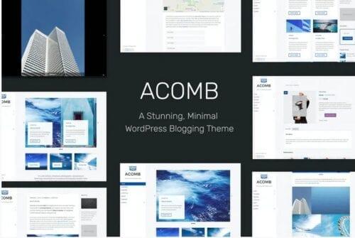 Acomb - Responsive Blogging WordPress Theme