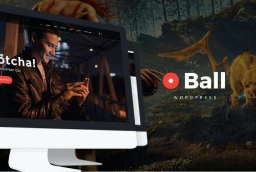 Ball — eSports / Gaming WordPress Theme