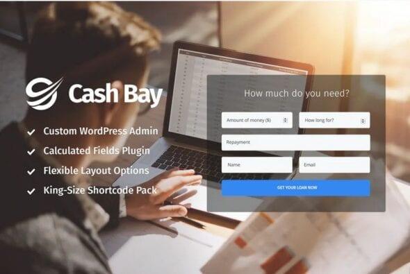 Cash Bay - Loan & Credit Money WP Theme