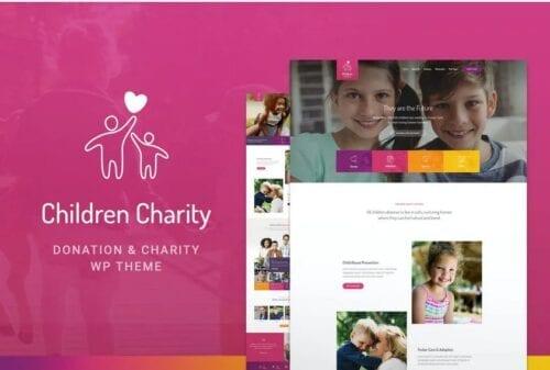 Children Charity - Nonprofit & NGO WordPress Theme
