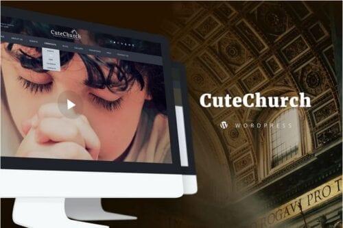 Church, Political, Municipal — CuteChurch WP Theme